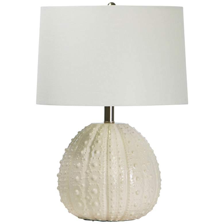 Regina Andrew Design Sanibel White Ceramic Accent Table Lamp