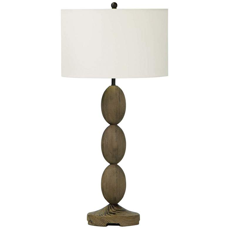 Regina Andrew Design Buoy Natural Birch Wood Table Lamp