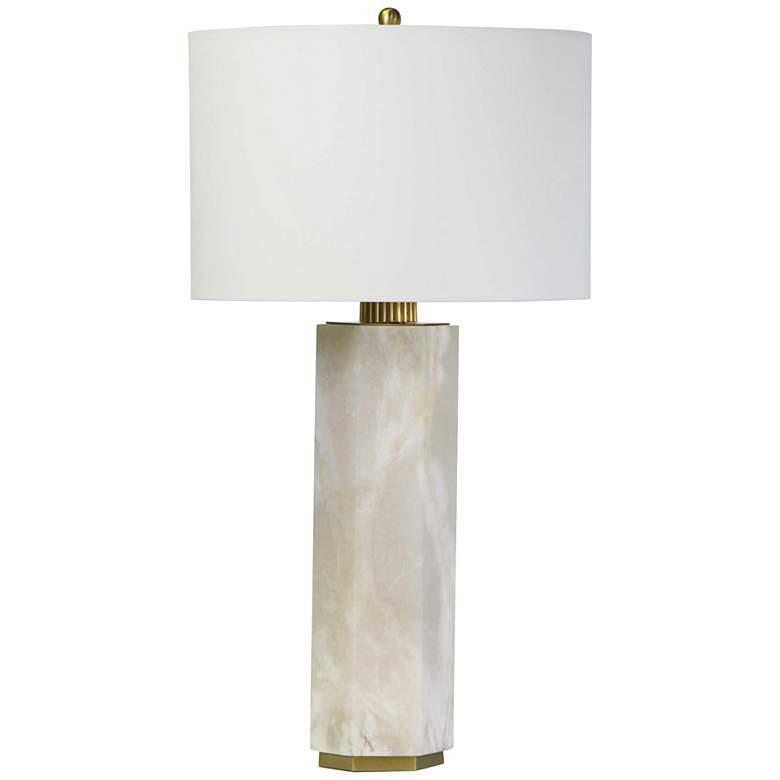 Regina Andrew Design Gear Natural Stone Alabaster Table Lamp
