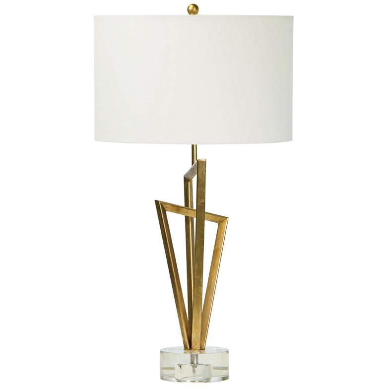 Regina Andrew Design Sydney Gold Leaf Metal Table Lamp