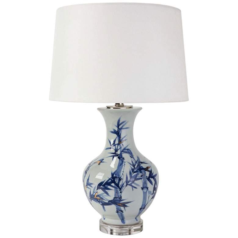 Regina Andrew Design Hanna Blue and White Ceramic Table Lamp