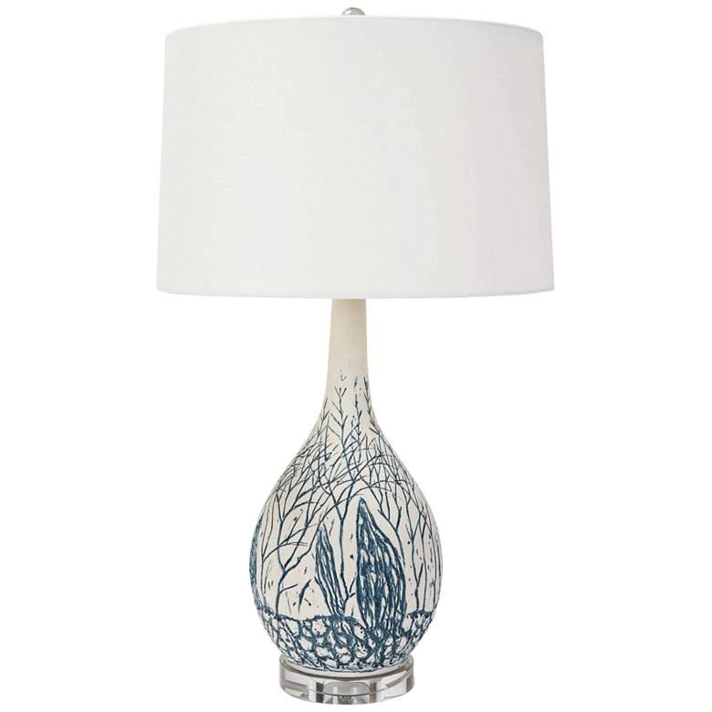 Regina Andrew Design Camile Blue Ceramic Table Lamp