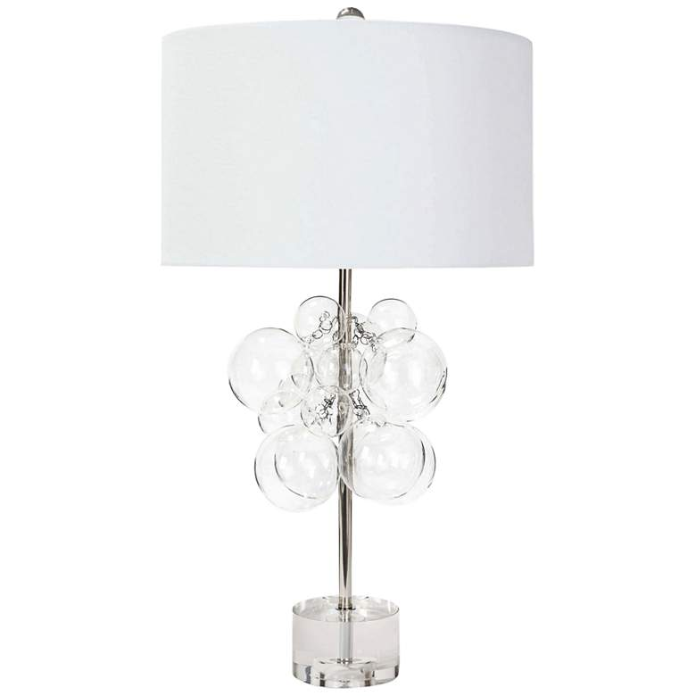 Regina Andrew Design Bubbles Clear Glass Table Lamp