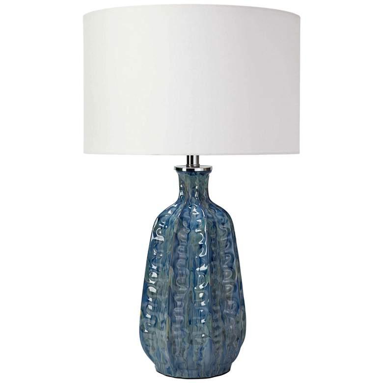 Regina Andrew Design Antigua Blue Ceramic Table Lamp