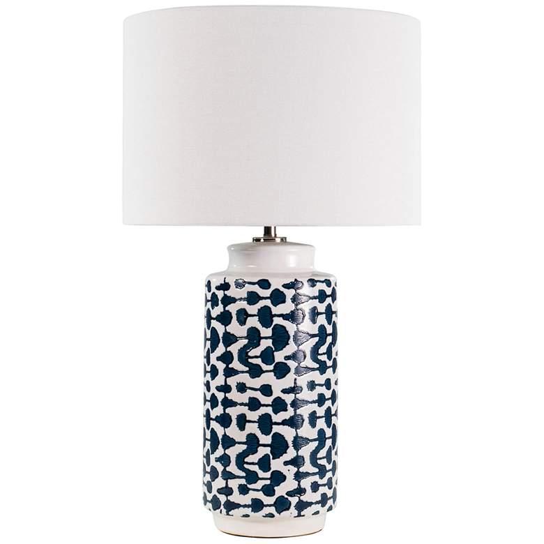Regina Andrew Design Cailee Indigo Blue Ceramic Table Lamp