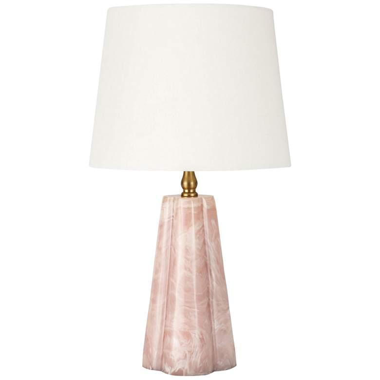 """Regina Andrew Design Joelle 17 1/2""""H Rose Accent Table Lamp"""
