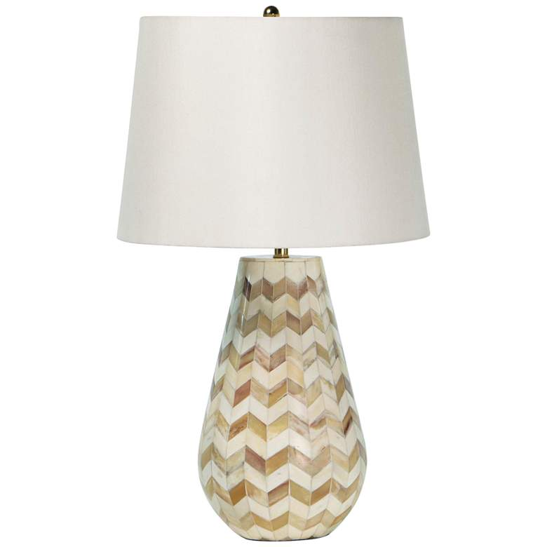 Regina Andrew Cassia Chevron Natural Accent Table Lamp