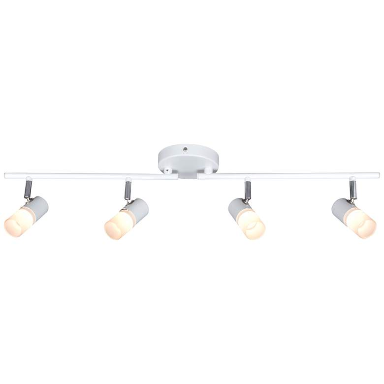 Pro Track Renee 4-Light White LED Track Fixture