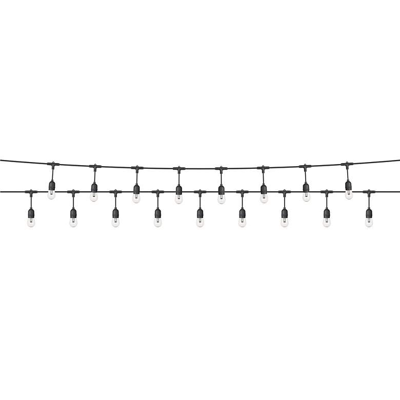 24-Light 48' Black S14-II RGB Outdoor LED String