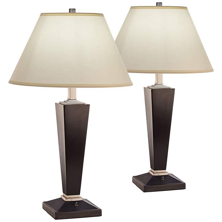 Kirkwood Black Table Lamp Set of 2