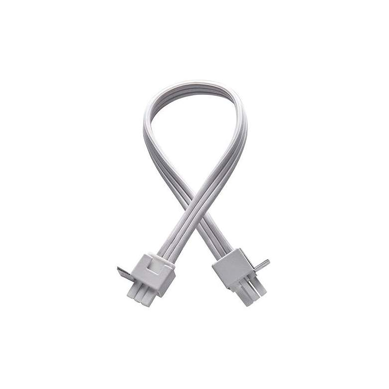 """WAC 12"""" White Interconnect Cable"""