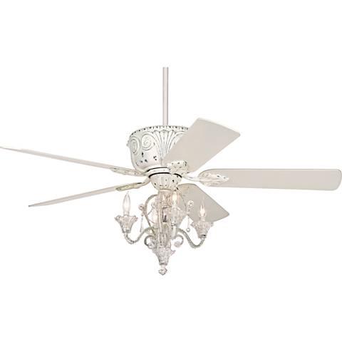 Casa Deville™ Candelabra Ceiling Fan with Remote
