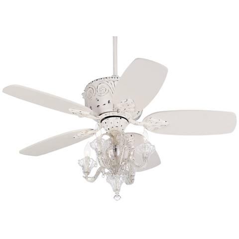 "44"" Casa Deville Candelabra Ceiling Fan with Remote Control"