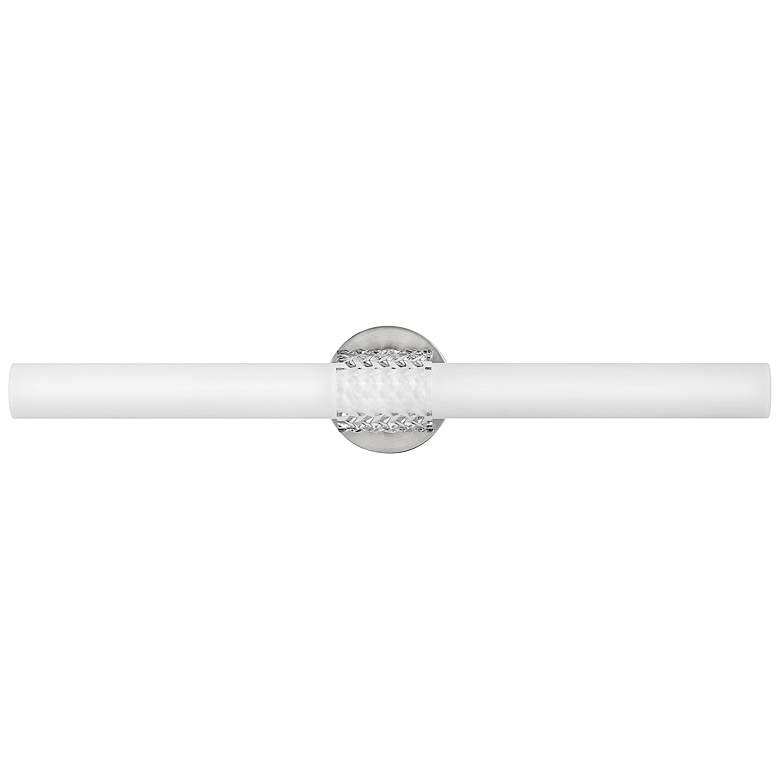 "Hinkley Vivi 32"" Wide Brushed Nickel LED Bath Light"