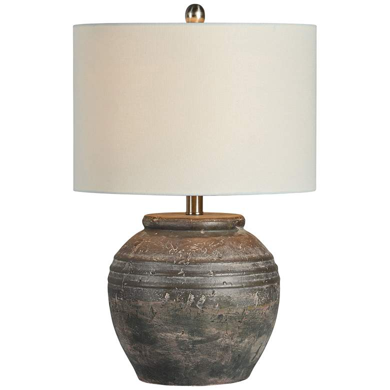 Forty West Douglas Shades of Brown Ceramic Accent Table Lamp
