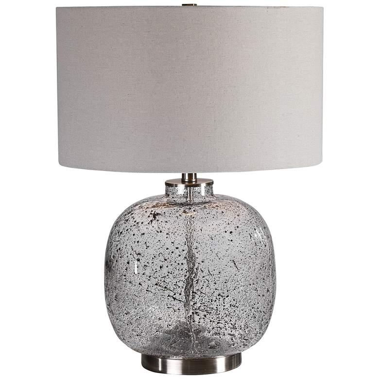 Uttermost Storm Translucent Art Glass Accent Table Lamp