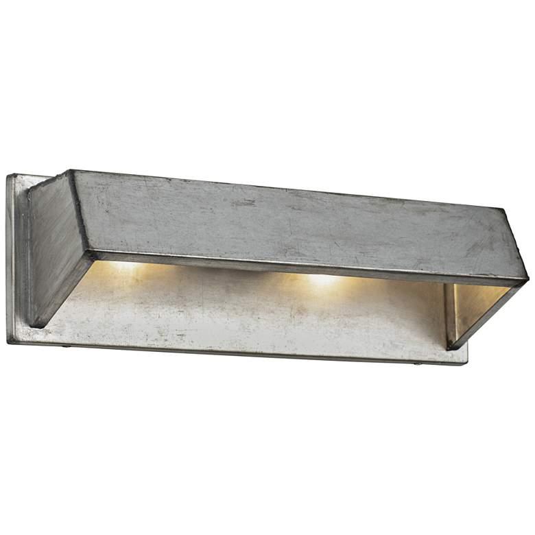 "Varaluz Galvanic 19 1/2"" Wide Ombre Galvanized 2-Light Bath Light"