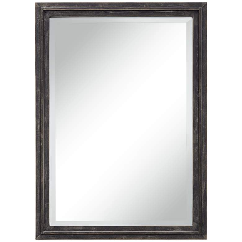 "Bartlet Staggered Bronze 24"" x 34"" Framed Wall Mirror"