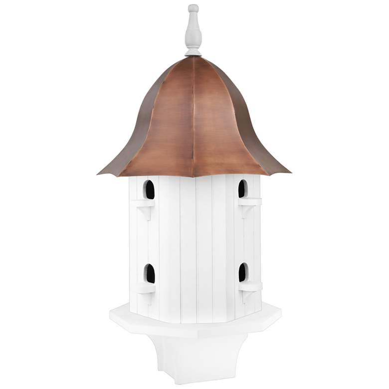 Dovecote Manor Pure Copper Roof Bird House