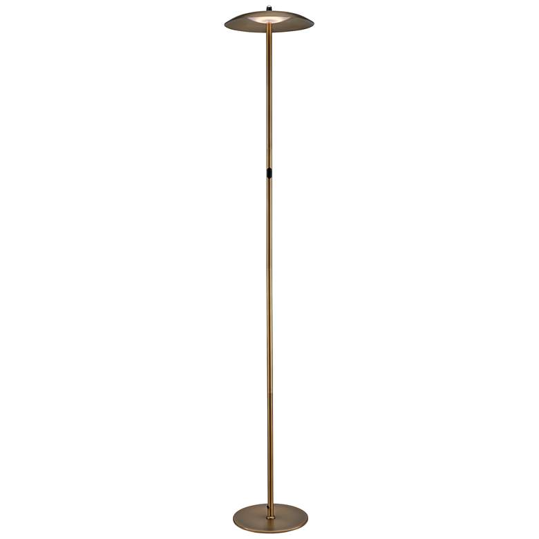 Lite Source Torin Antique Brass LED Floor Lamp