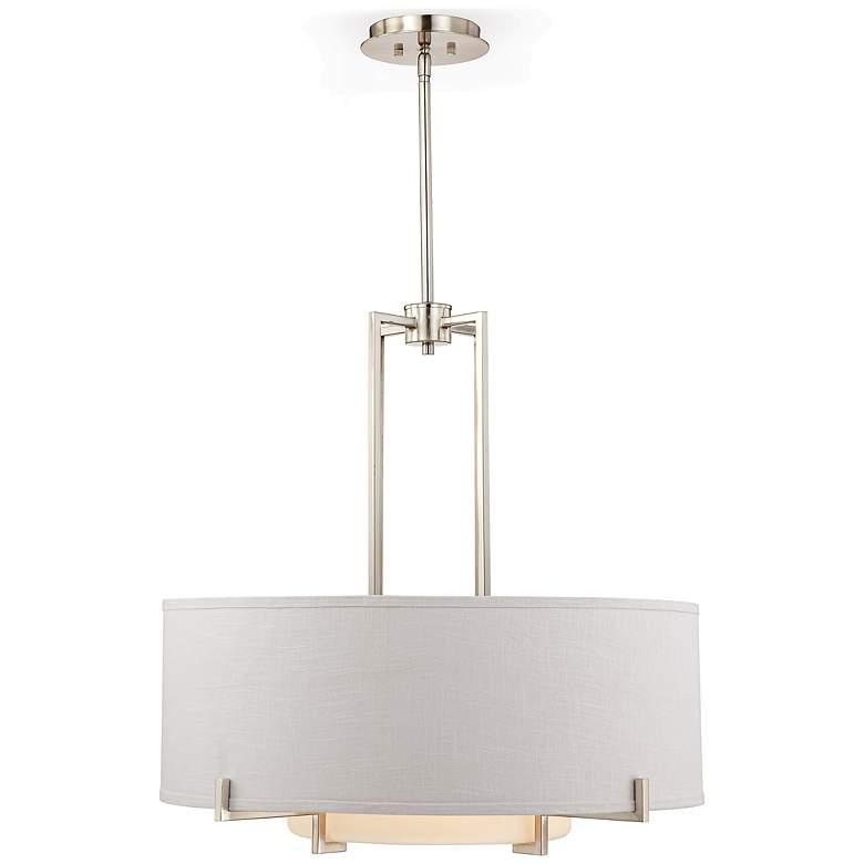 "Possini Euro Concentric Shades 28"" Wide Modern Pendant Light"