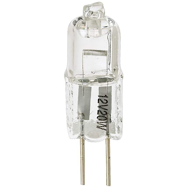 20 Watt Halogen G4 Bi-Pin Low Voltage Light