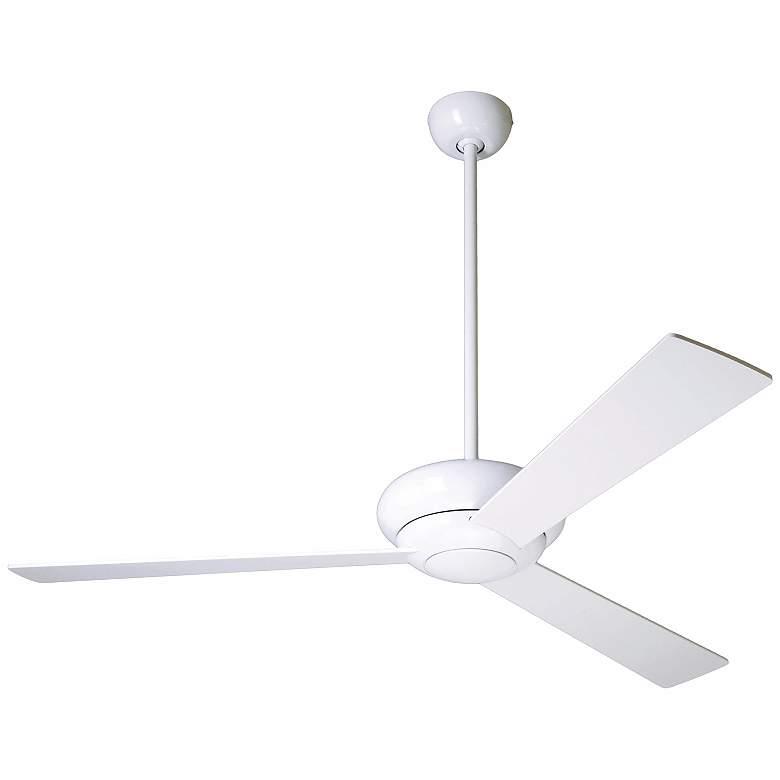 """52"""" Modern Fan Company Altus Glossy White Ceiling Fan"""