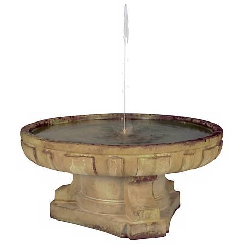 "Henri Studio 16"" High Regal Dish Fountain"