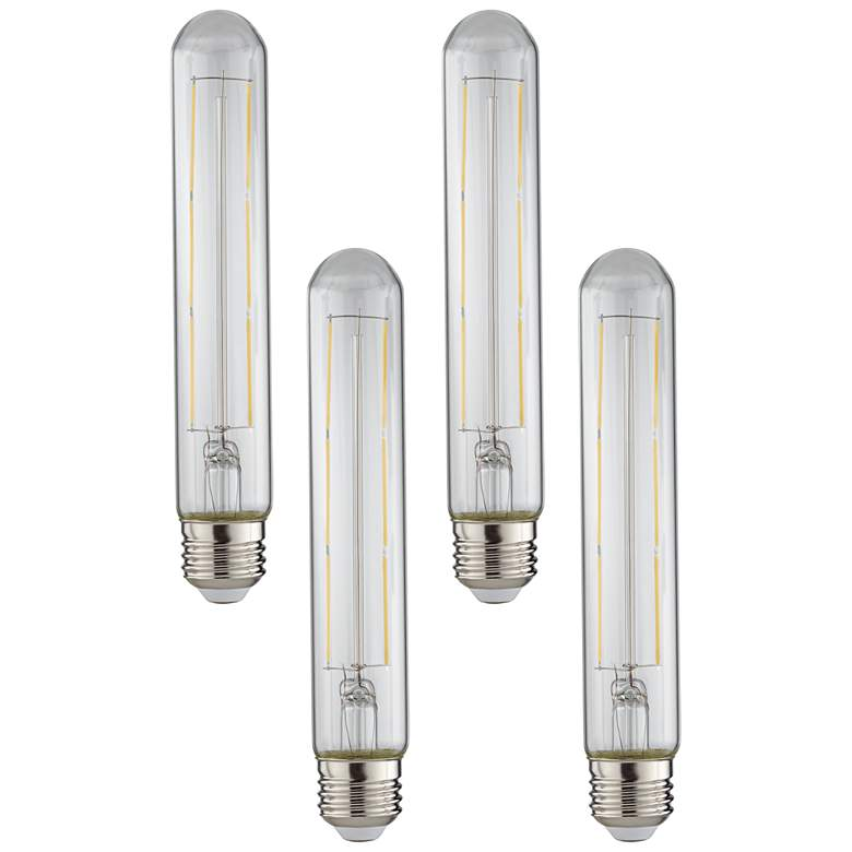 75W Equivalent Clear 10W LED Dimmable Standard T30 4-Pack