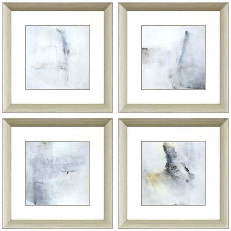 "A Glimpse 20"" Square 4-Piece Framed Giclee Wall Art"