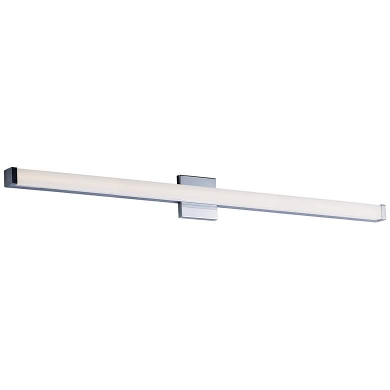 "Maxim Spec 48"" Wide Polished Chrome LED Bath Light"