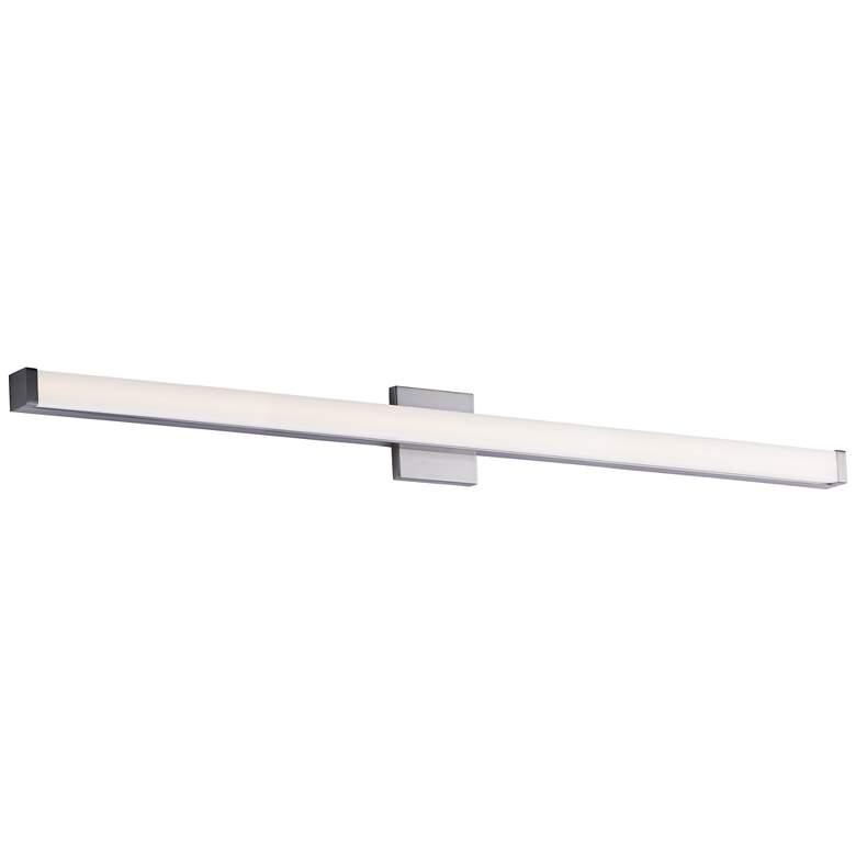 "Maxim Spec 48"" Wide Satin Nickel LED Bath Light"