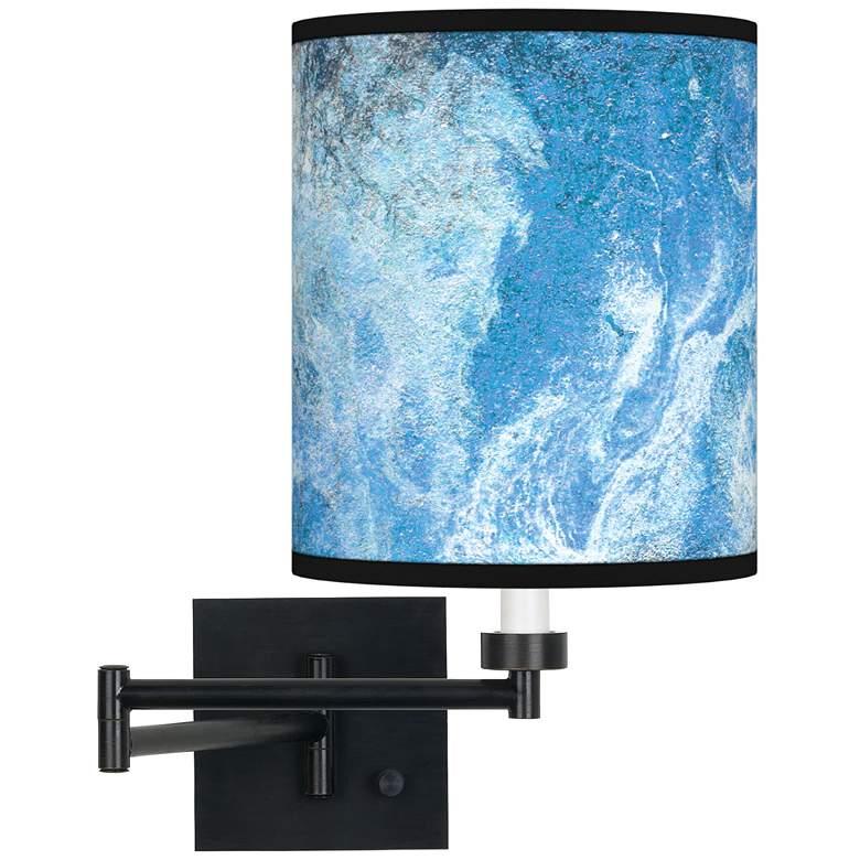 Ultrablue Espresso Bronze Swing Arm Wall Lamp