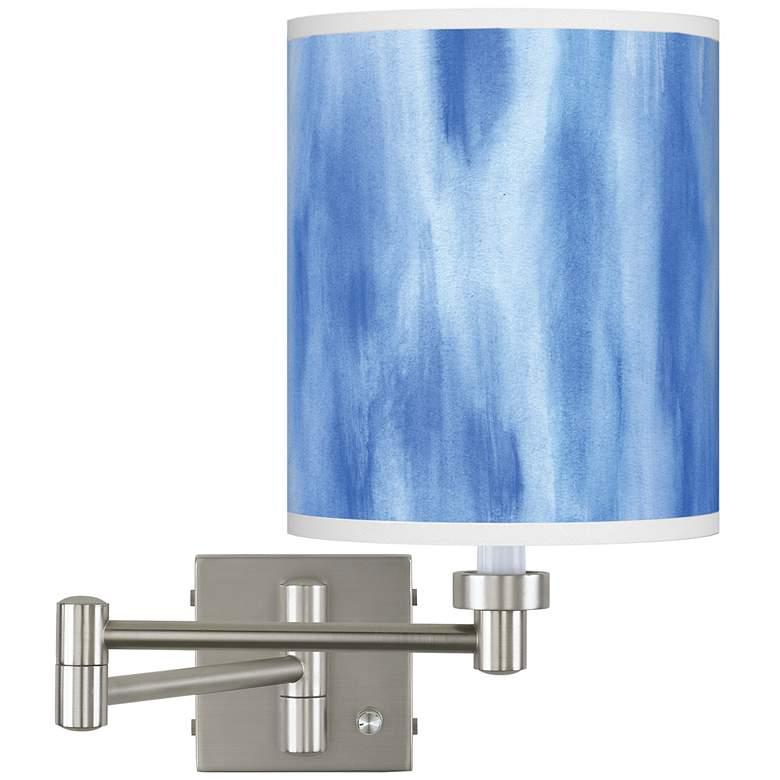 Bluetide Brushed Nickel Swing Arm Wall Lamp