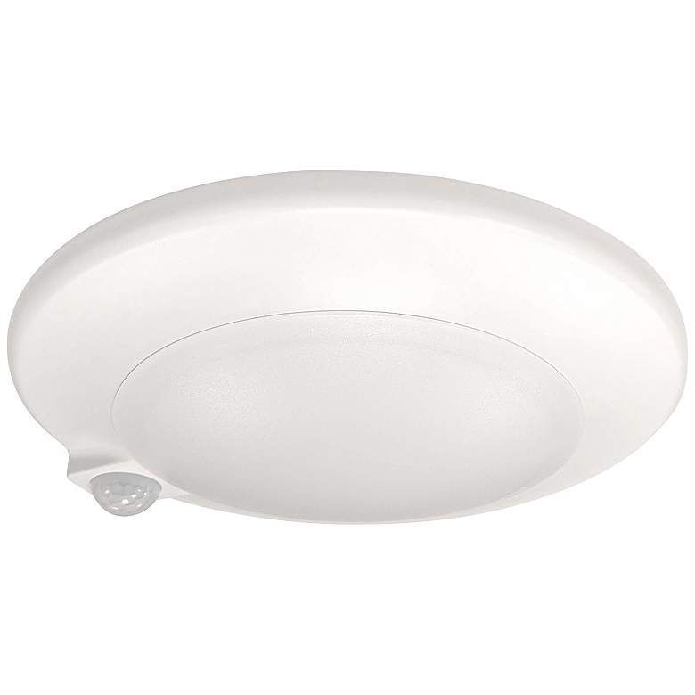 "AC Opal 7"" White Surface Mounted 3000K LED"