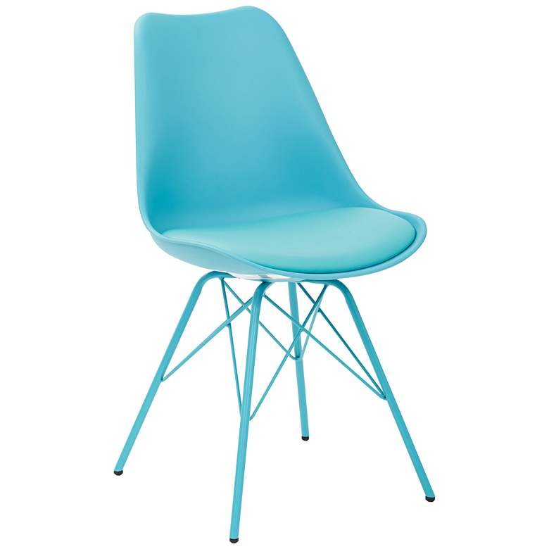Emerson Teal Armless Side Chair