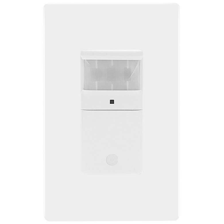 Motion Detector Wall Switch in White