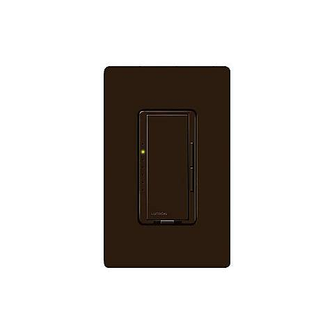 Lutron Maestro Brown 600 Watt Low Voltage Magnetic Dimmer