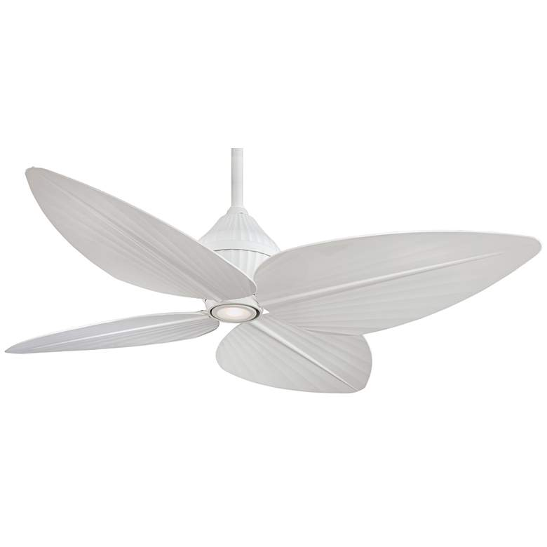 "52"" Minka Aire Gauguin™ Flat White Outdoor Ceiling Fan"