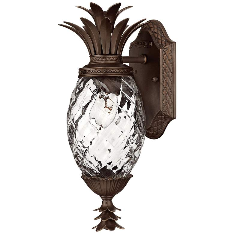 "Hinkley Plantation 14"" High Copper Bronze Outdoor Wall Light"
