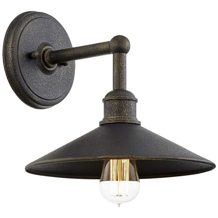 Shelton 10 1 4 High Vintage Bronze Outdoor Wall Light 89c07 Lamps Plus
