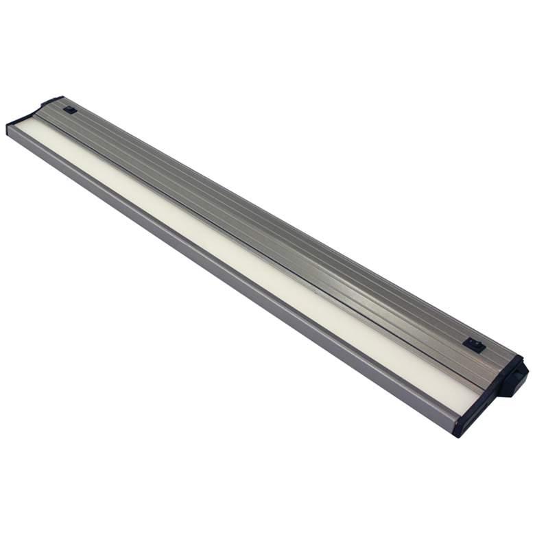 "CSL Eco-Counter 24""W Satin Aluminum LED Under Cabinet Light"