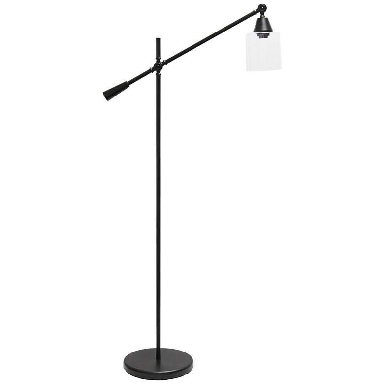 Lalia Matte Black Adjustable Floor Lamp