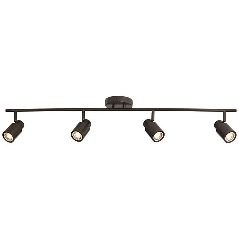 Pro Track Melson 4-Light Bronze LED Track Fixture