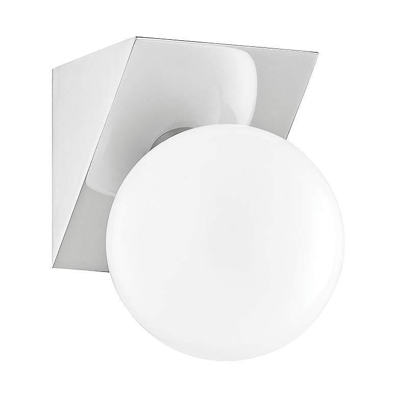 "Mitzi Aspyn 7"" High Polished Nickel LED Wall Sconce"
