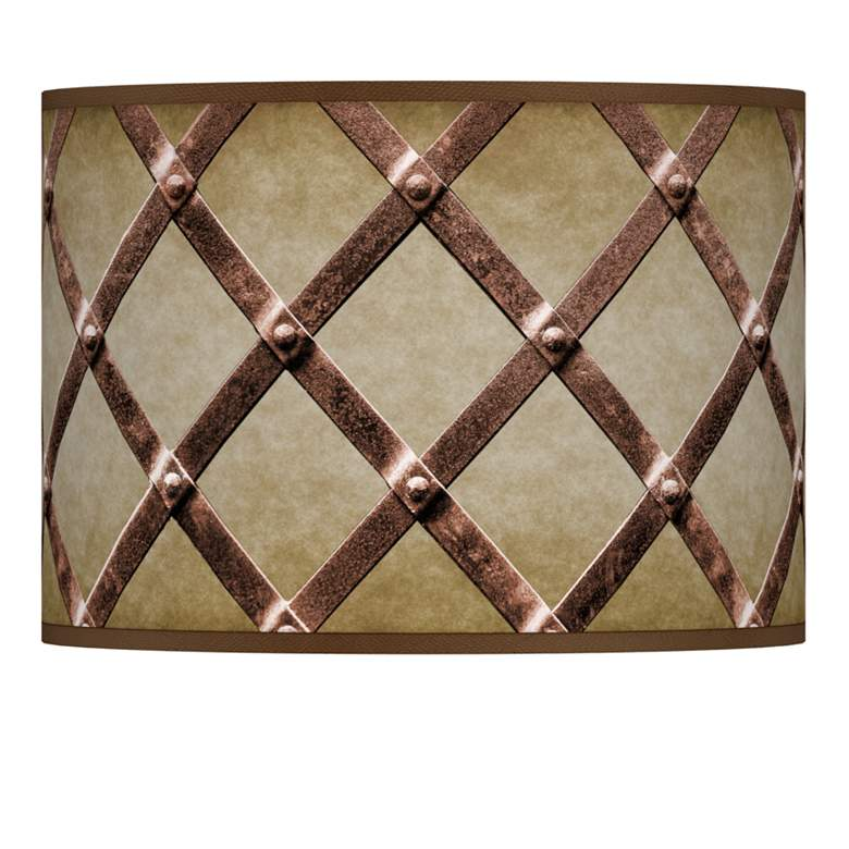 Metal Weave Giclee Lamp Shade 13.5x13.5x10 (Spider)