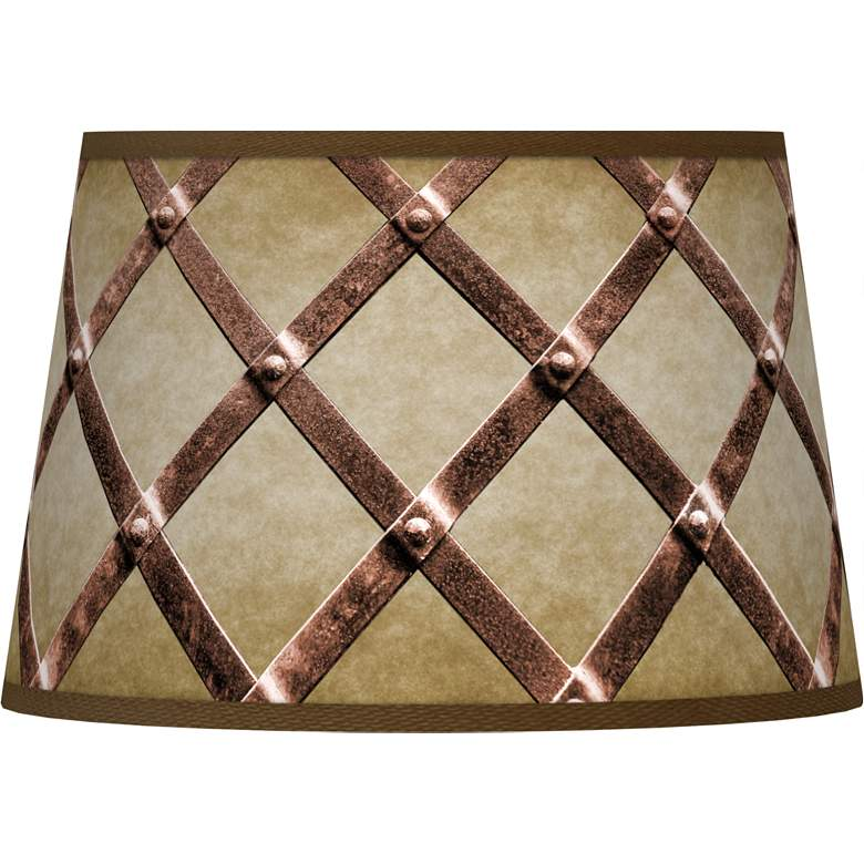 Metal Weave Tapered Shade 13x16x10.5 (Spider)