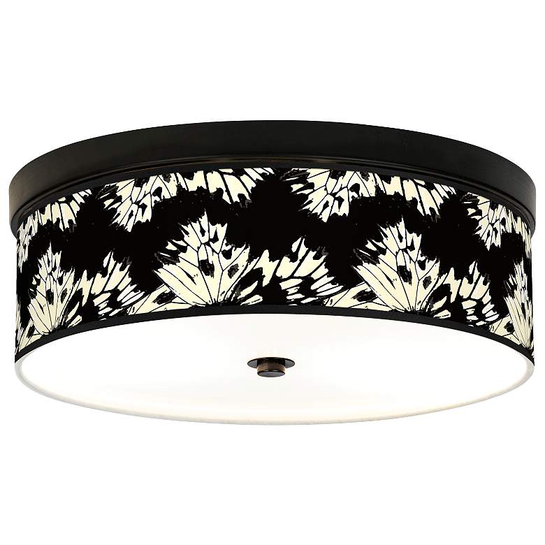 Wings Giclee Energy Efficient Bronze Ceiling Light