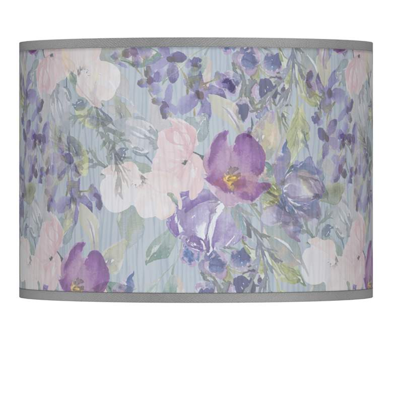 Spring Flowers Giclee Lamp Shade 13.5x13.5x10 (Spider)