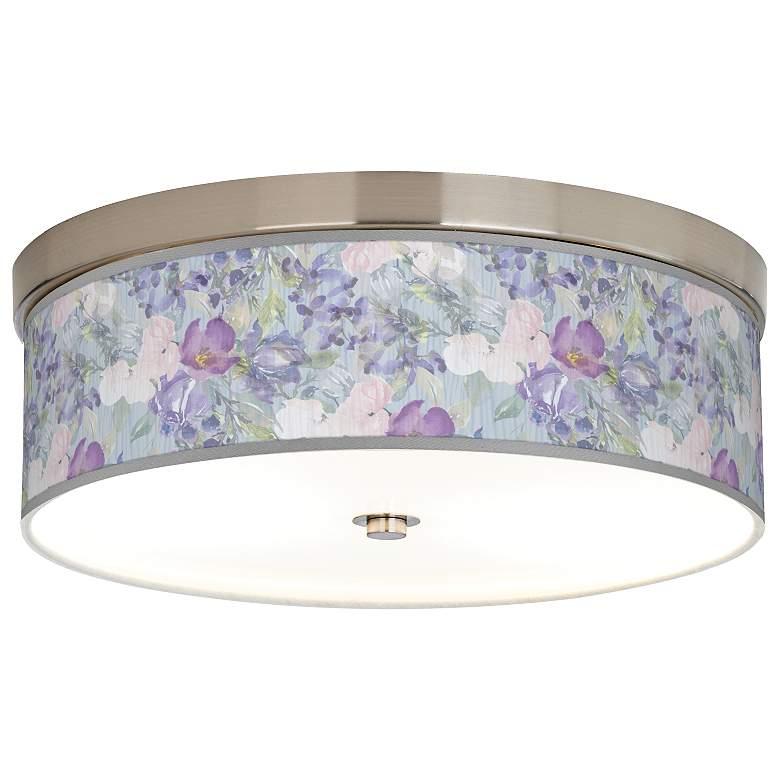 Spring Flowers Giclee Energy Efficient Ceiling Light